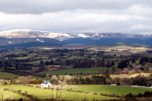 Looking North towards Lugnaquilla from the Kyle loop (Pic.Michael Kelly)